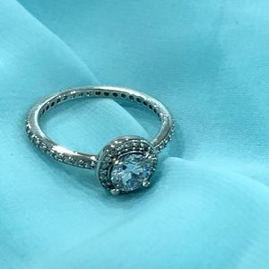 NWOT Sterling silver/ cz ring